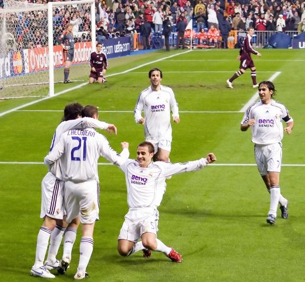 Kända fotbollslag i historien