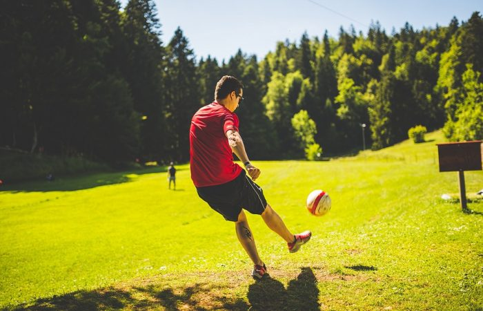 Börja spela fotboll