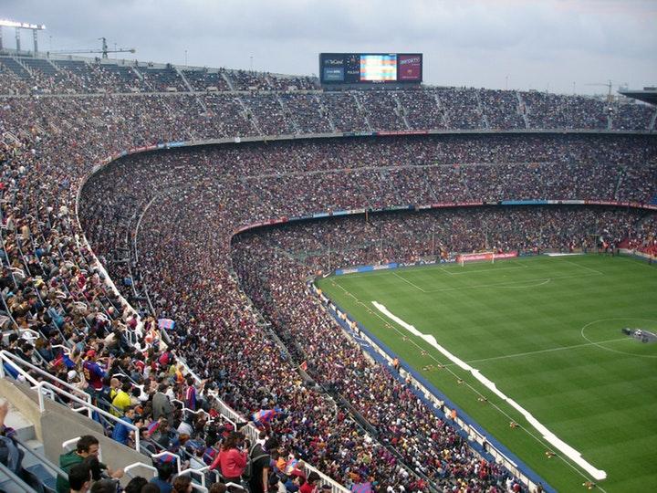 En full fotbollsstadion